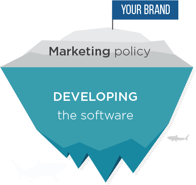 Your brand,Marketing poicy,developing the sotware
